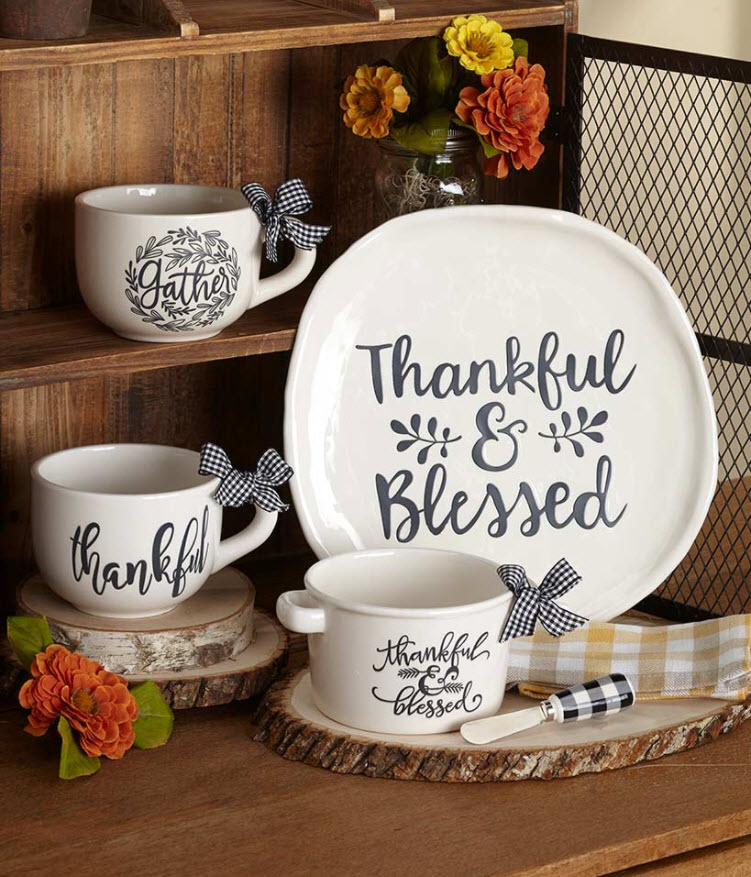 Thankful and Blessed Tabletop Collection