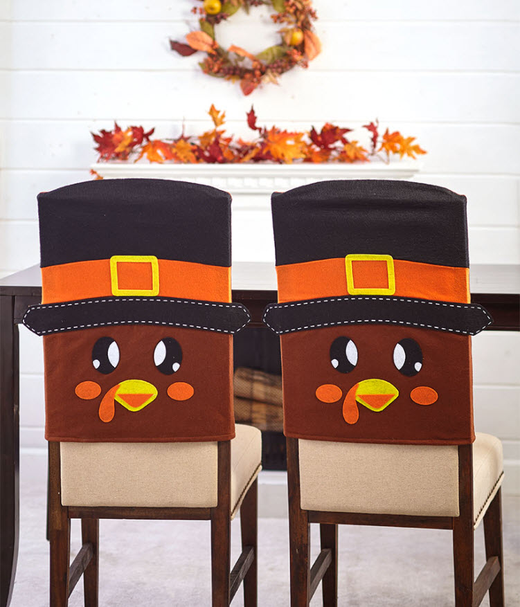 Sets of 2 Holiday Dining Chair Covers