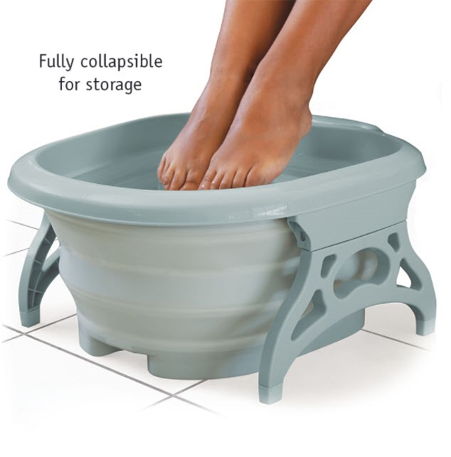 Collapsible Foot Spa with Massagers