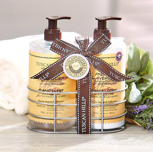 Hand Soap and Lotion Caddy Gift Sets